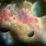 a airbrush painting secrets galaxy 1