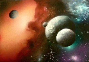 a airbrush painting secrets galaxy 4