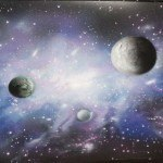 a airbrush painting secrets galaxy 9