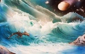 a alien wave