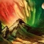 a rainbow planet