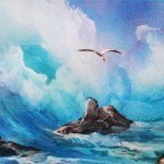 a rough seas spraypaintartsecrets