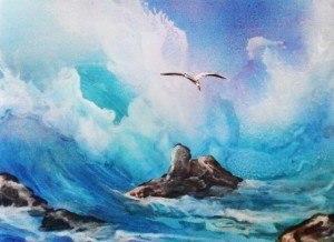 a rough seas spraypaintartsecrets