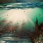 a underwater airbrush