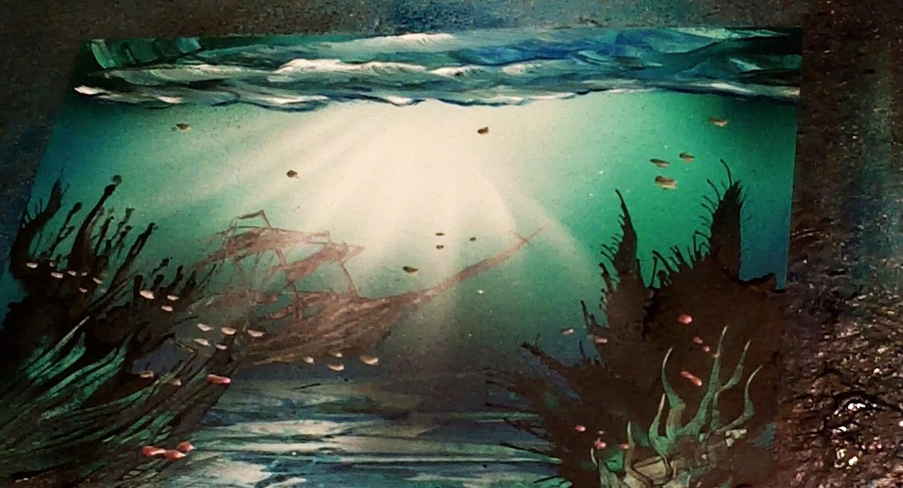 A Underwater Airbrush Airbrush Painting Secrets
