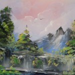 a airbrush waterfall 2