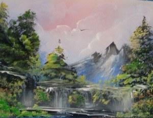 a airbrush waterfall 2