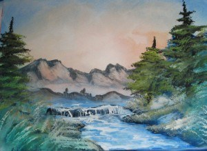 a airbrush waterfall 4